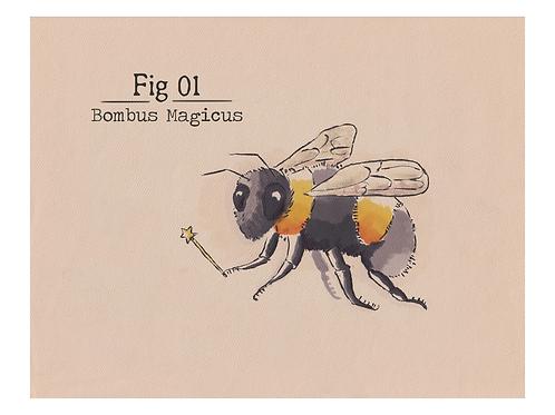 Fig. 01 Bombus Magicus (Print)