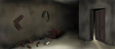 Background / haunted house layout for upcoming animated short