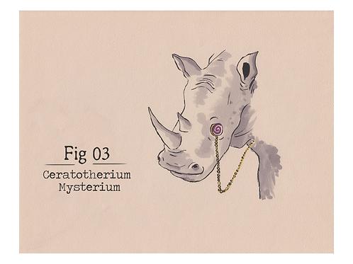 Fig. 03 Ceratotherium Mysterium (Print)