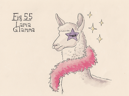 Fig. 55 Lama Glamma (Original)
