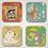 Thumbnail: Sermonibus Animalis Coaster Set (4)