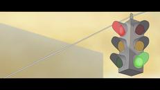 Traffic light design for upcoming animated short
