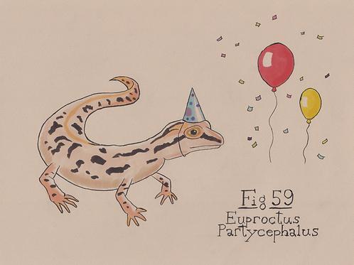 Fig. 59 Euproctus Partycephalus (Original)