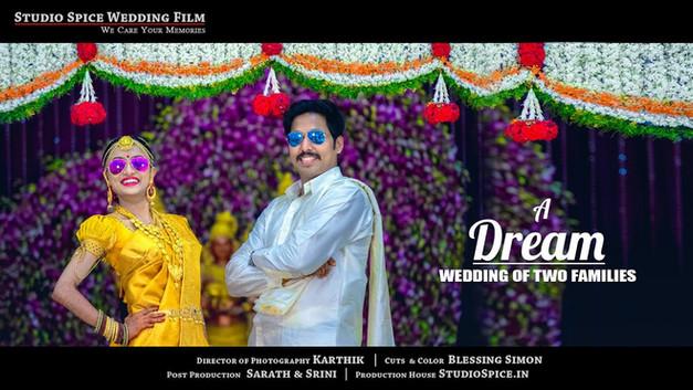 A Grand Tamilnadu Hindu Wedding Film Video Sasikumar and Vidya { HD }