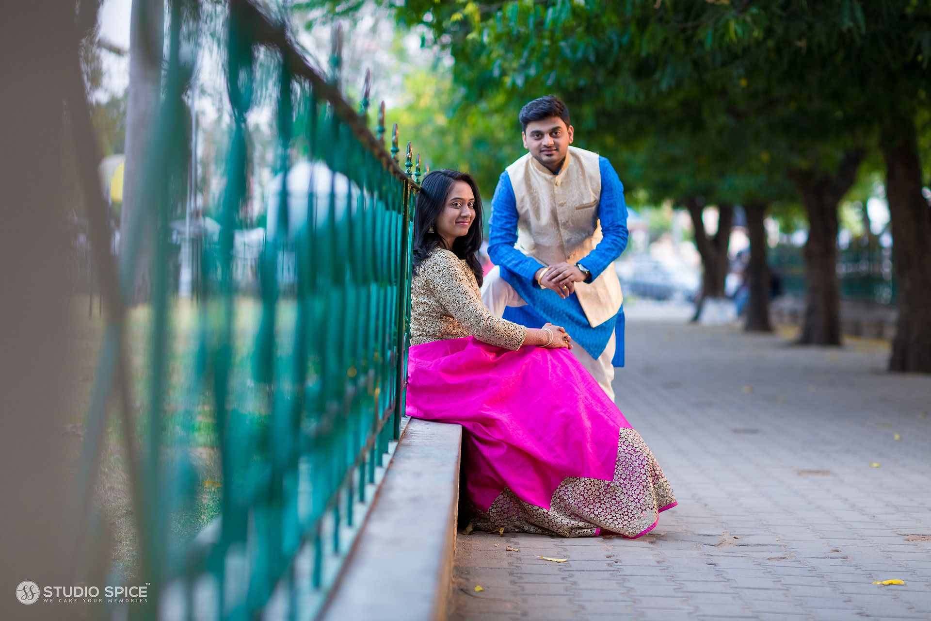 best-post-wedding-couple-shoot-in-mysore-studio-spice-india
