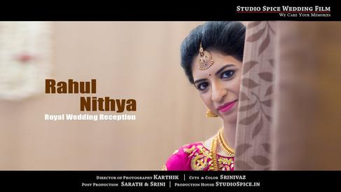 A Beautiful Wedding Reception at Chennai  { RAHUL & NITHYA }