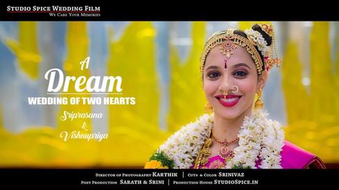 Beautiful Iyengar Wedding Video in Chennai by StudioSpice.in  { SRIPRASANA + VISHNUPRIYA }