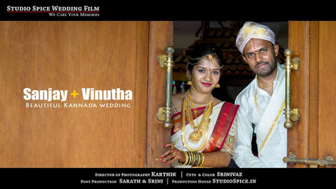 Beautiful Kannada Wedding Video in Kolar by STUDIOSPICE.IN { Sanjay + Vinutha } HD