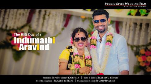 A Beautiful South Indian Wedding ARAVIND and INDUMATHI