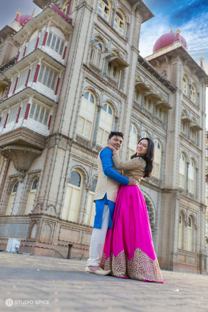 best-post-wedding-couple-shoot-in-mysore-studio-spice-india