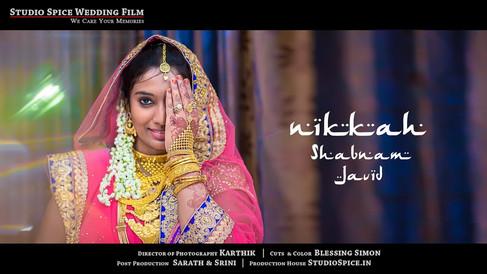 Beautiful Indian Muslim Wedding - Nikkah, Javid + Shabnam | Studio Spice™