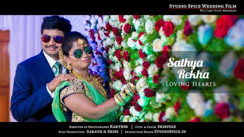 Awesome Tamil Wedding film  Rekha + Sathya by studiospice.in  | Thiruvannamalai  [HD]