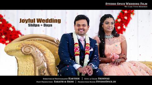 Grand Wedding Reception in Chennai | DAYA & SHILPA