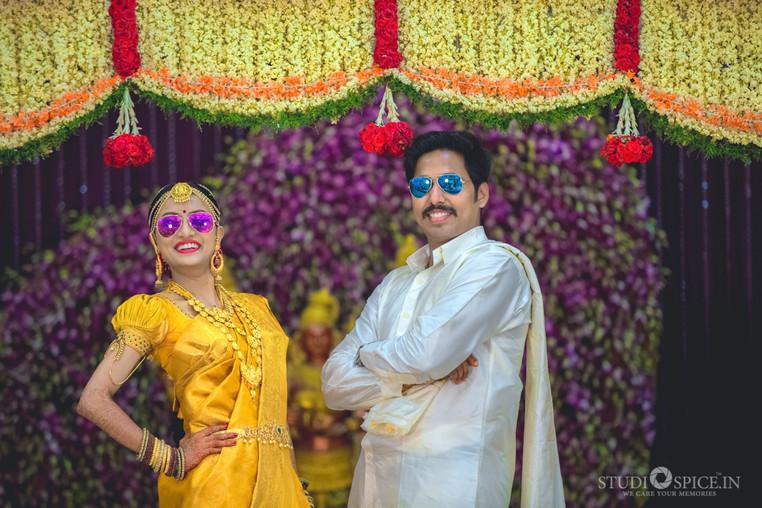 South indian Grand Wedding Vidya + Sasi Kumar