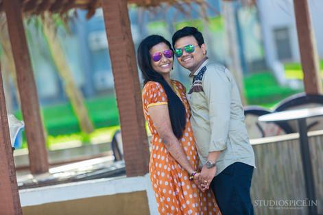 Best Post Wedding Couple Shoot | ECR  Shilpa + Daya