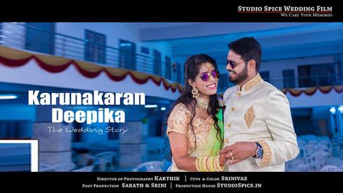 South Indian Wedding Highlights | Karunakaran + Deepika