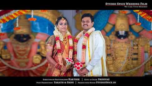 DAYA & SHILPA WEDDING TEASER @ CHENNAI