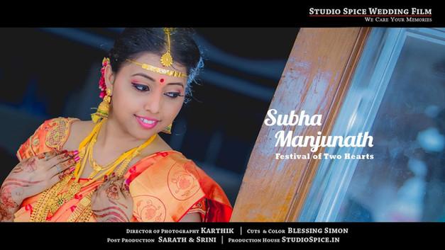 A Dream Wedding of Two Families SUBHA & MANJUNATH { HD }