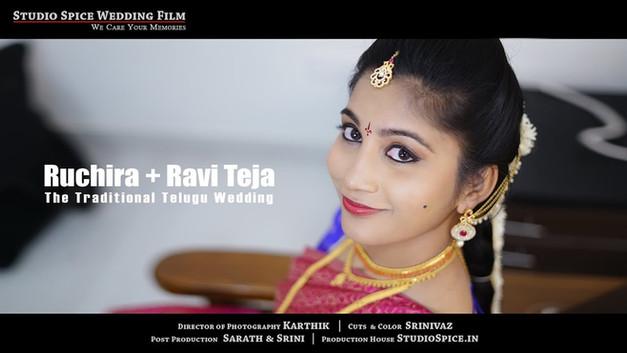 A Traditional Telugu Wedding Film Of Ruchira + Ravi in Hyderabad HD