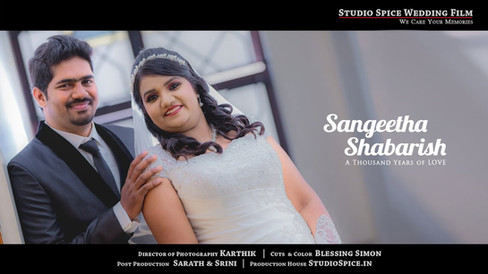 Christian Wedding Film Video in Madurai SABHARISH + SANGEETHA