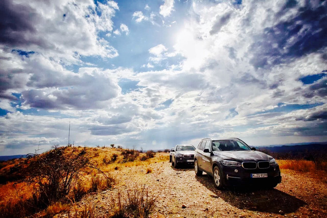 BMW Driving Experience Namibia
