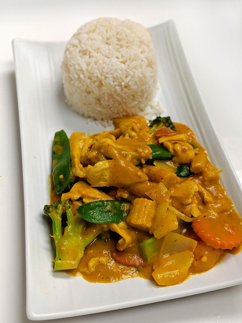 Malaysian Curry Chicken
