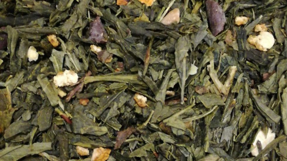 Té verde Avellana, cacao y naranja
