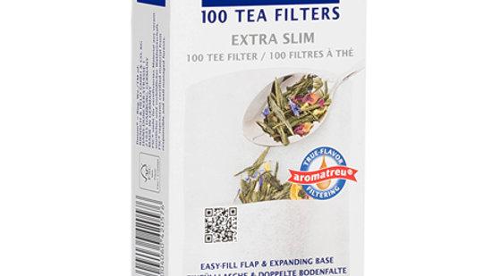 Filtro papel taza xs finum, 100 bolsitas
