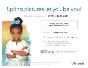 Spring Picture Day/El día de las fotografías de primavera