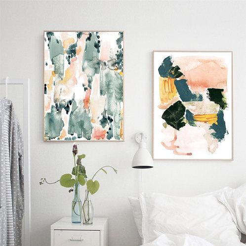 Watercolor Art Posters