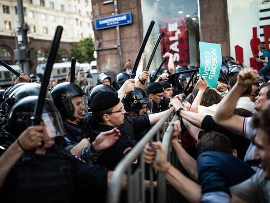 Митинги Навального и левые