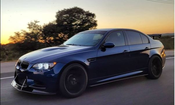 2009 BMW M3 - Teckwrap Space Blue
