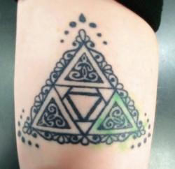 Triforce (tattoo)