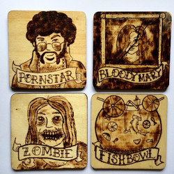 Character Coasters (front)