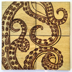 Tentacle Puzzle Coasters