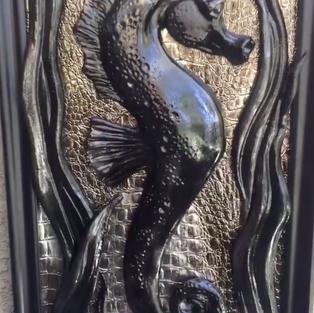 Ebony Seahorse