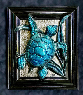 Ebony Sea Turtle