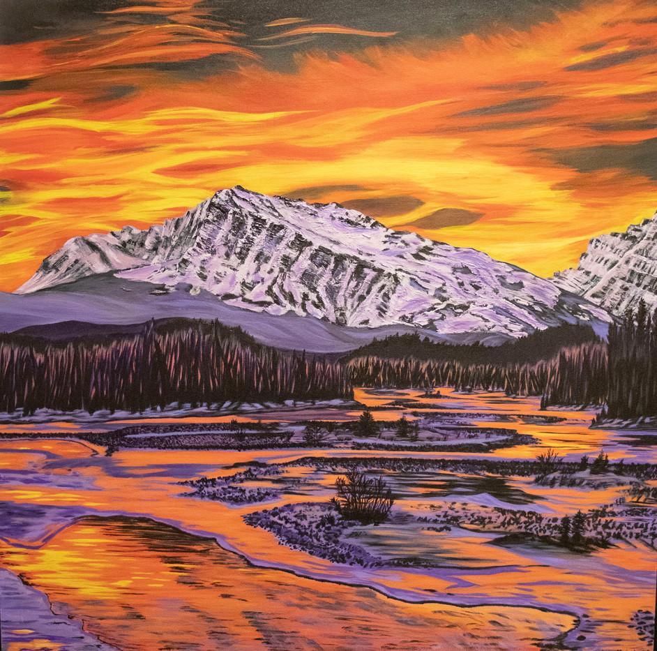 Fiery Sky 36x36.jpg