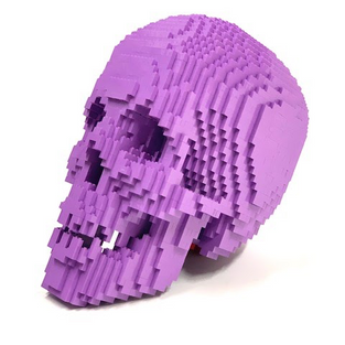 Light Purple Skull