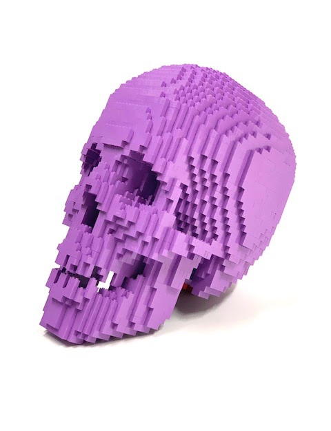 Light Purple Skull