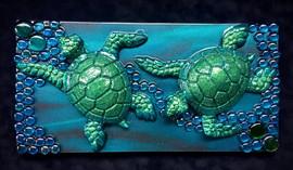 Flowing Sea Turtles