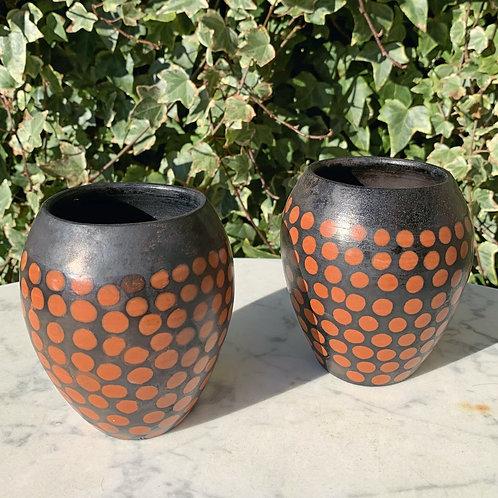 2 Prikkede Vaser