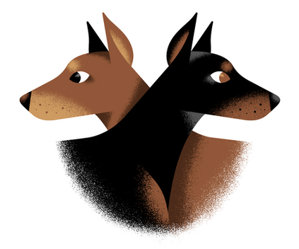 Dobermann Duo