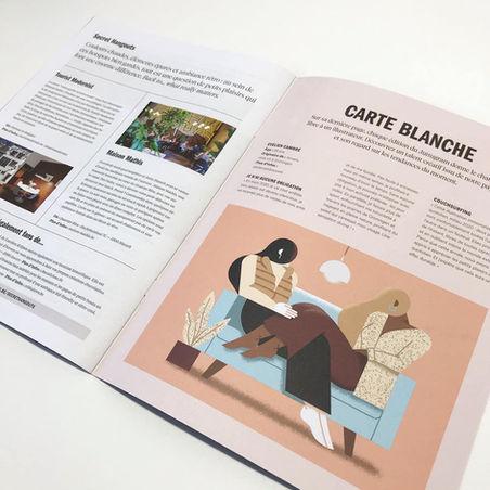 magazine - Carte Blanche