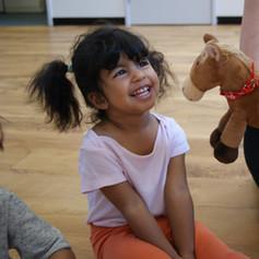 Hola horsey, spanish language, animals, toddler, fun.JPG