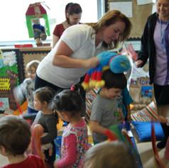 group activity, learning spanish, languages, fun, smiling, happy nursery child.JPG
