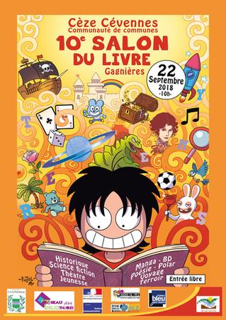 10ème Salon du Livre à Gagnières