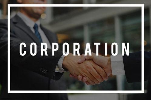 Corporation Registration