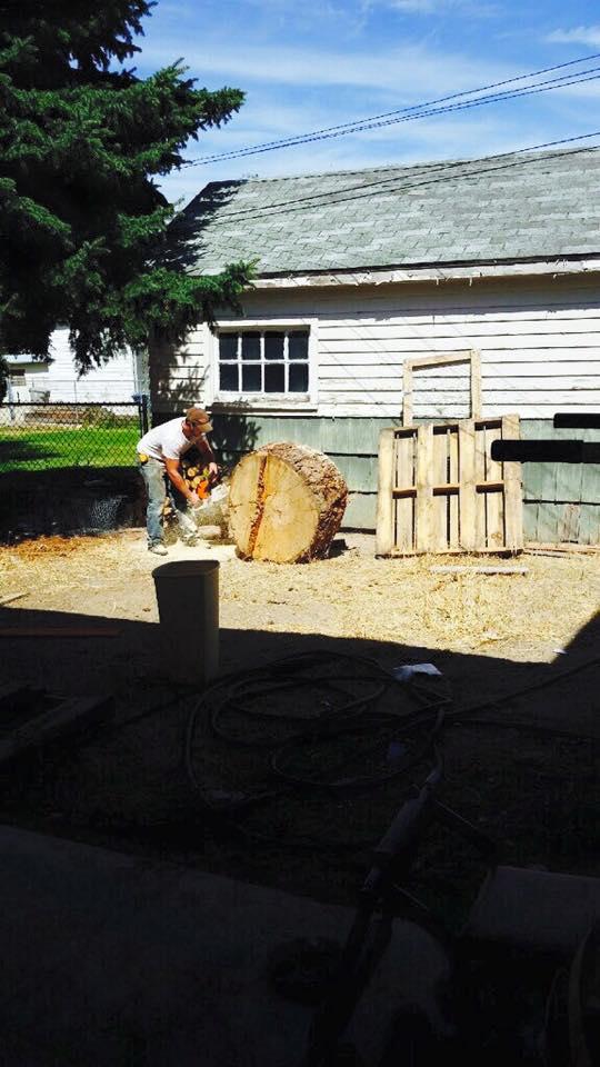 Jeff hard at work.