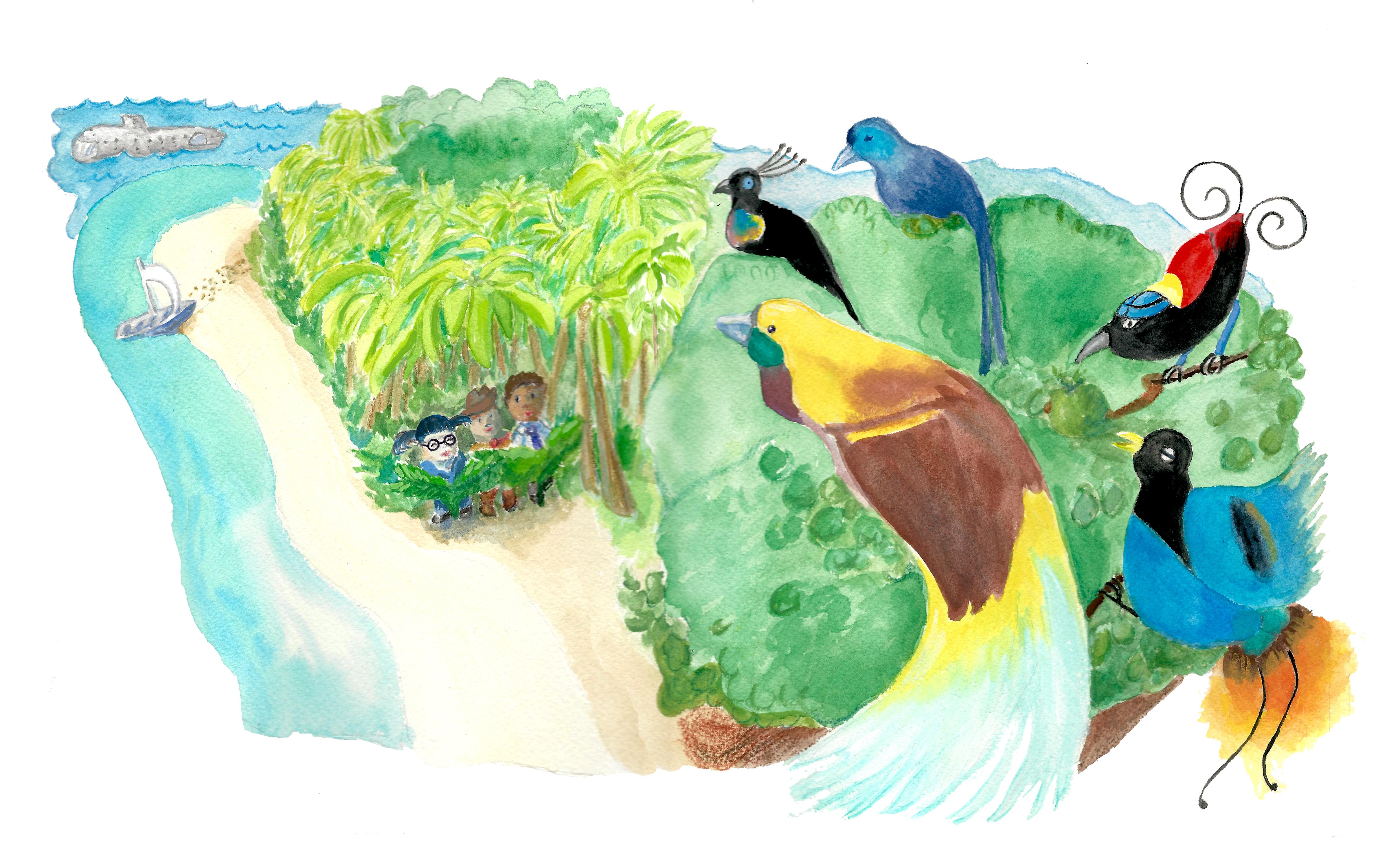 Birds ofParadise